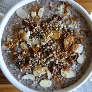 Overnight Chia Breakfast Bowl